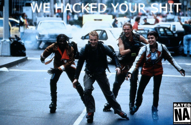 HACK THE PLANET!!!
