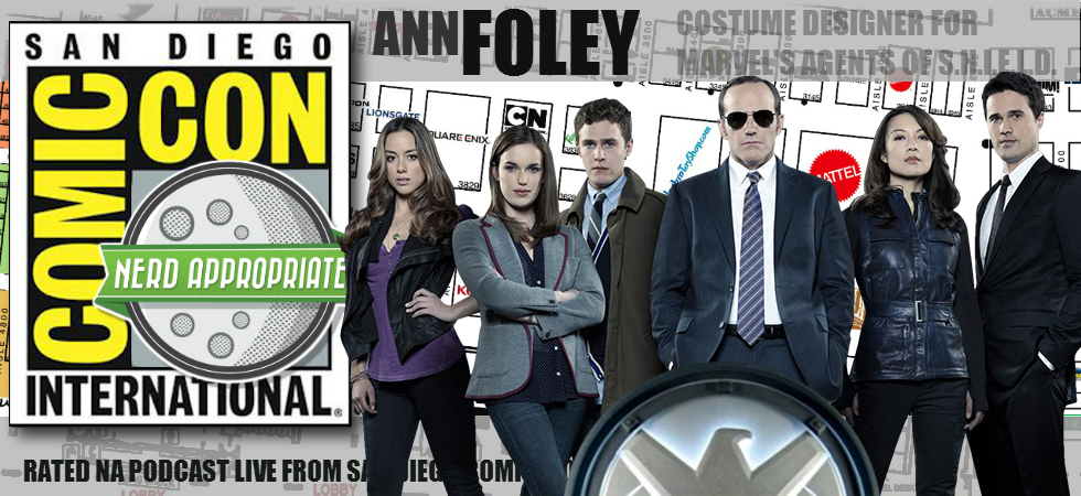 Rated NA: Ann Foley From Agents Of S.H.I.E.L.D. Live From San Diego Comic Con 2015