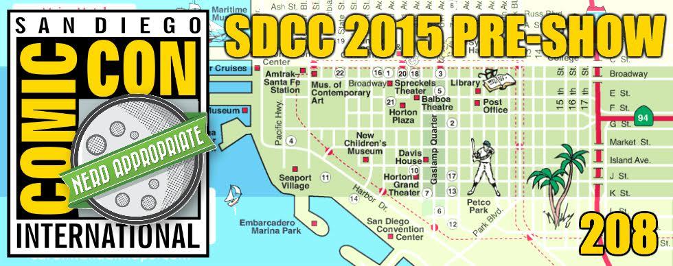 Rated NA 208: Comic Con 2015 Preshow