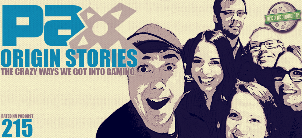 Rated NA 215: Origin Stories Panel From PAX Prime 2015