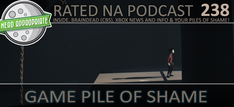 Rated NA 238: Game Pile Of Shame